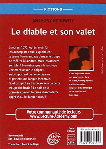 Libro le diable et son valet di anthony horowitz - Les portes du diable anthony horowitz ...