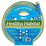 Apex Healthy Habitat Eco-Smart and Family Safe Garden Hose, 9/16-Inch by 75-Feet 6336-75