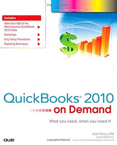 QuickBooks 2010 on Demand