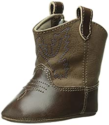 Baby Deer Western Boot (Infant),Brown,0 M US Infant