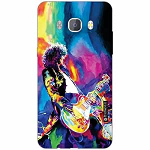 Samsung J5 new edition 2016 Back Cover - Silicon Abstract Designer Cases