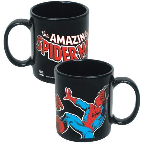 The Amazing Spider-Man - Ceramic Coffee Mug (Swinging)