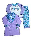 Bunz Kidz Little Girl's Love U Toddler 3 Pc. Pajama Set