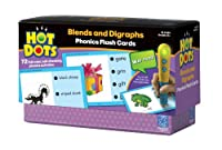 Educational Insights Hot Dots Blends & Digraphs Activity Cards from Educational Insights