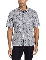 Reyn Spooner Men's Stripe Oasis Short Sleeve Button Down Shirt