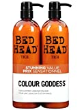 Colour Combat - The Colour Goddess System by TIGI Bed Head Hair Care Tween Set - Shampoo 750ml and Conditioner 750ml