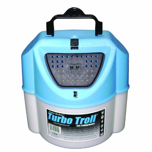 Challenge 50114 Turbo Troll Bait Bucket, 8 Quart,