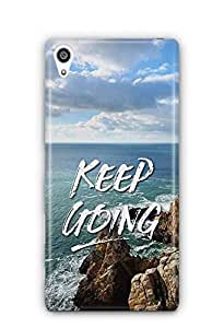 YuBingo Keep Going Designer Mobile Case Back Cover for Sony Xperia Z5 Plus