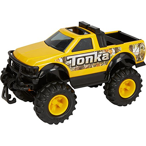 Tonka Classic Toy Steel Dune Squad 4 x 4 Pickup Truck with Camo Accents (Tonka Pickup Truck compare prices)