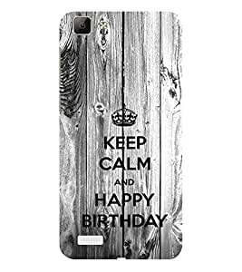 ifasho Nice Quote On Keep Calm Back Case Cover for VIVO Y53