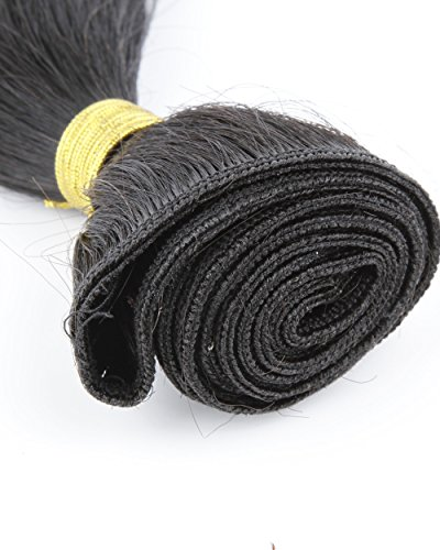 Cool2day-Straight-100-Virgin-Peruvian-Human-Hair-Weave-ExtensionsNatural-Color50GramGrade-6A-18