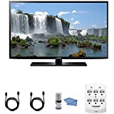 Samsung UN40J6200 - 40-Inch Full HD 1080p 120hz Smart LED HDTV + Hookup Kit