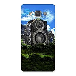 Enticing Mountain Range Speaker Back Case Cover for Galaxy Grand 3