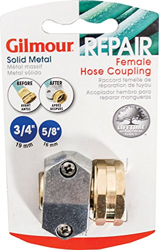 Gilmour Heavy Duty Zinc & Brass Female Clamp Coupling 01FZ (Hose Clamp Spreader compare prices)