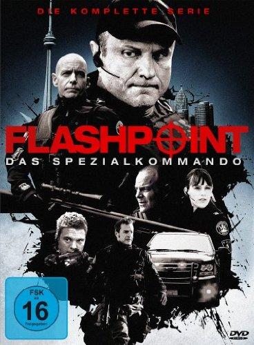 Flashpoint - Das Spezialkommando: Die komplette Serie [24 DVDs] hier kaufen
