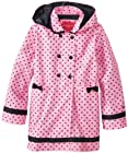 London Fog Little Girls'  Dot Printed Trench Coat