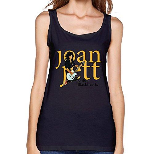 [JUJ Joan Jett & The Blackhearts Women's Tanks Black X-Large] (Joan Jett Wigs)