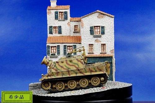 1:72 ドラゴン モデル 1:72 Armor コレクター シリーズ 60346 Sturmtiger ディスプレイ モデル German Army 1001st Sturmmorser Kompa