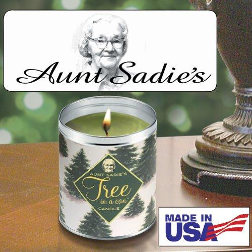 Aunt Sadie's Snowy Tree Candle, Pine