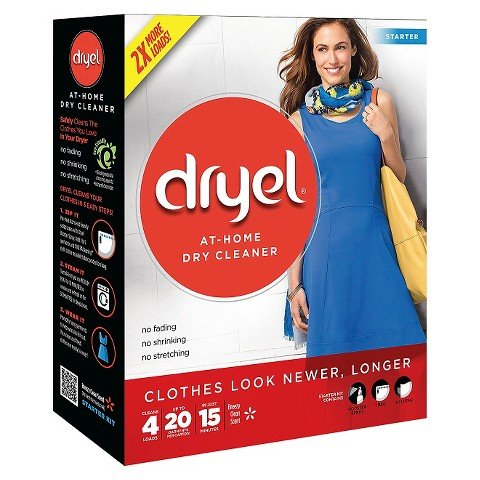 Dryel At-Home Dry Cleaner Starter Kit 4 Loads (1) (Dry Cleaner Starter Kit compare prices)