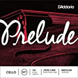 D\'Addario Bowed Jeu de cordes pour violoncelle D\'Addario Prelude, manche 1/4, tension Medium