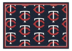 MLB Repeating 5 ft. 4 in. x 7 ft. 8 in. Rug