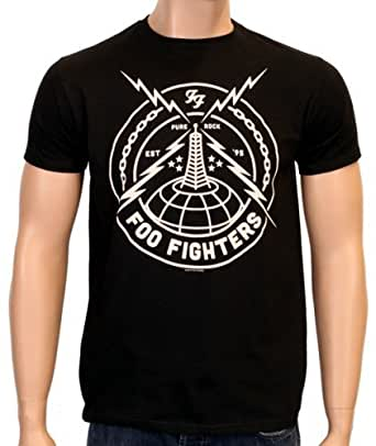 Coole-Fun-T-Shirts T-Shirt the Foo Fighters Strike Pure Rock, schwarz, S, FT192