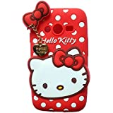 Yes2Good Hello Kitty Back Cover For Samsung Galaxy Grand Duos 9082 - Red