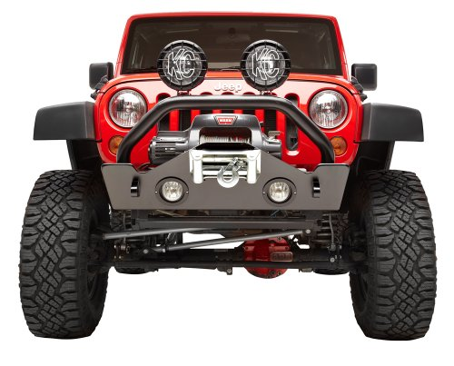 Bestop 42933-01 Highrock Black 4 X 4 Narrow Style Front Bumper For Jk