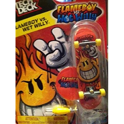 Amazon.com : Tech Deck Flame Boy vs. Wet Willy : Other Products