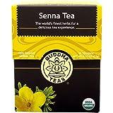 Buddha Teas Senna Tea, 18 Count (Pack of 6)