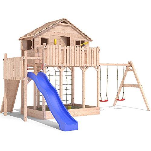 spielturm baumhaus profi spielt rme mit rutschen. Black Bedroom Furniture Sets. Home Design Ideas
