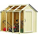 Hopkins 90192 2x4basics Shed Kit, Peak Style Roof