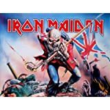 LPGI Iron Maiden The Trooper Fabric Poster, 30 by 40-Inch