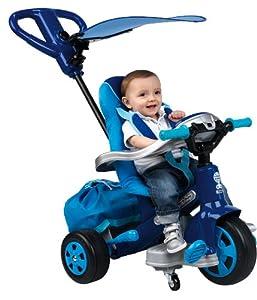 Feber - 800007098 - Vélo et Véhicule pour Enfant - Tricycle Evolutif Baby Twist 360° - Boy