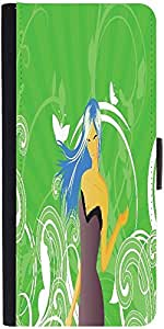 Snoogg Abstract Illustration Graphic Snap On Hard Back Leather + Pc Flip Cove...