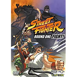 Street Fighter: Animated Comic Volume 1 - Round One - FIGHT!