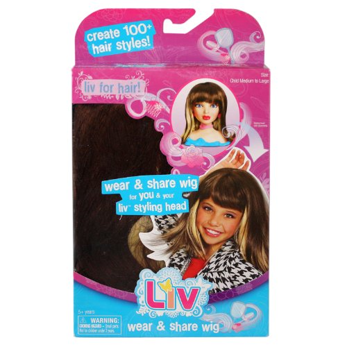Liv Doll Wear And Share Wig Brunette With Blonde - 1