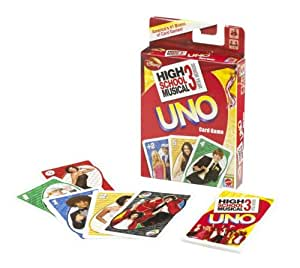 High School Musical 3 UNO Card Game