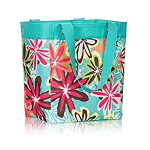 Thirty One Essential Storage Tote In Daisy Craze 4446