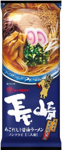 マルタイ 長崎あごだし入り醤油ラーメン 178g×15食