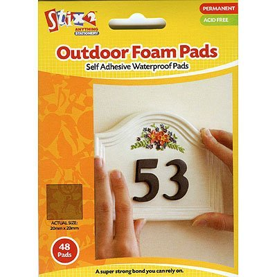 outdoor-foam-pads-double-sided-adhesive-pk-of-48-20mm-x-20mm