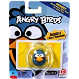Mattel Angry Birds Mini Figure Blue Bird