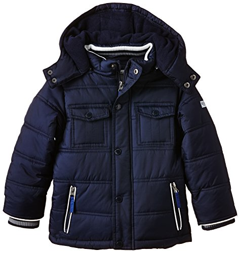 SALT AND PEPPER Jungen Jacke Outdoorjacket Builder Kap, Einfarbig, Gr. 104 (Herstellergröße: 104/110), Blau (night blue 481)