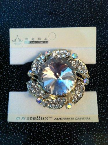 Austrian Crystal Ponytail Holder