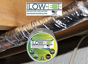Esp Low E Simple Solution Foam Core Pipe Wrap Insulation Kit Outdoor Faucet Cover Foil Tape