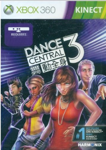 Dance Central 3 (English, French, German, Italian, Japanese, Korean, Spanish, Chinese Language) [Asia Pacific Edition] For Xbox 360 & Kinect