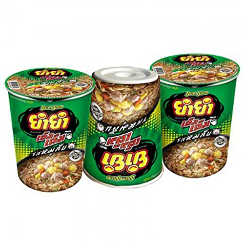 [YUMYUM JUMBO INSTANT NOODLES MINCED PORK FLAVOR 60 G. PACK 3] (Toddler Fried Egg Costume)