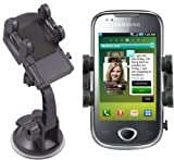 Mobilizers: In Car Windscreen Suction Mount Holder Kit for Samsung Galaxy 3 Apollo i5800
