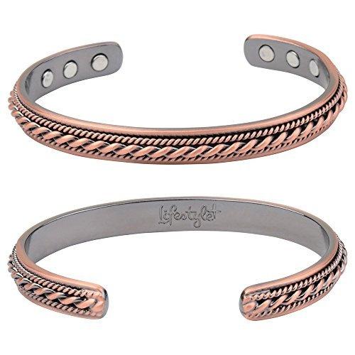 flash-sale-pure-magnetic-copper-bracelet-for-women-men-arthritis-pain-relief-6-rare-earth-therapy-ma